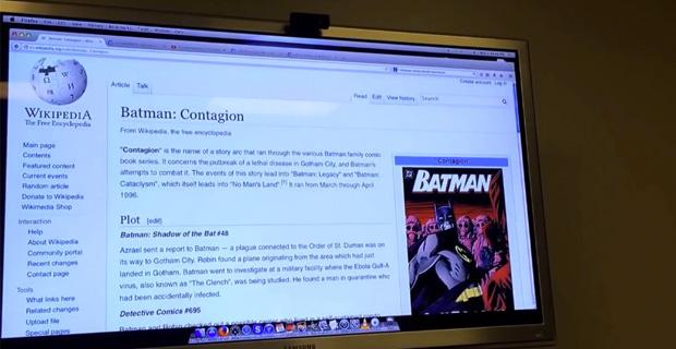 Did Batman Predict The Ebola Outbreak?