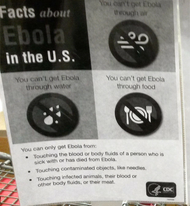 CVS Posts CDC Ebola Info at Stores