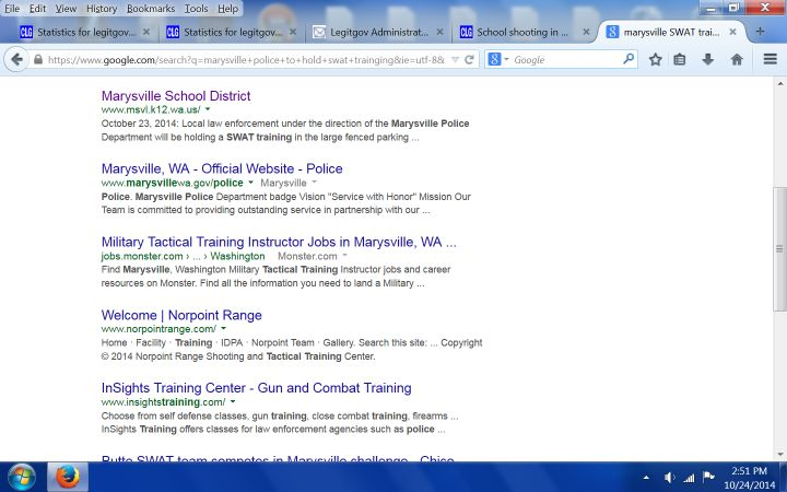 CNN: SWAT Drill At Washington School Day Before Shooting