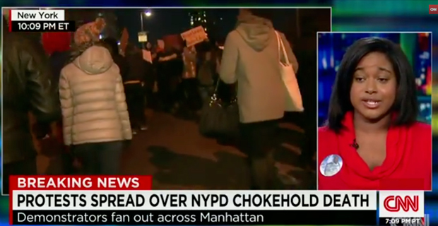 Eric Garner's Daughter: 'This is not a Black and White Issue'