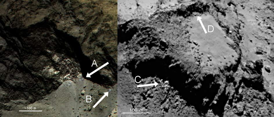 Photos: Rosetta Probe Images of Comet