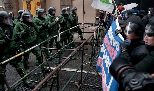 Germany riot targets new ECB headquarters in Frankfurt
