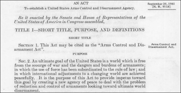 Did You Know a Law Is On The Books to Disarm All Americans?