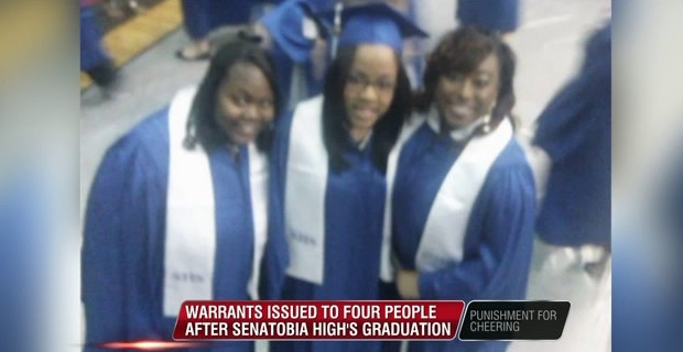 Family Threatened With Jail For Cheering Graduating Relatives