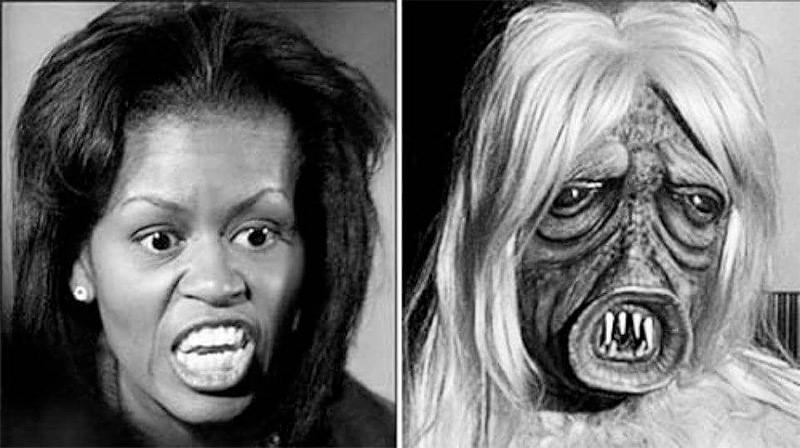 Found! Picture of Michelle Obama Without Makeup