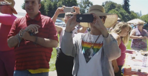 Video: Gay Open Carry Group Kicked Out of Gay Pride Rally