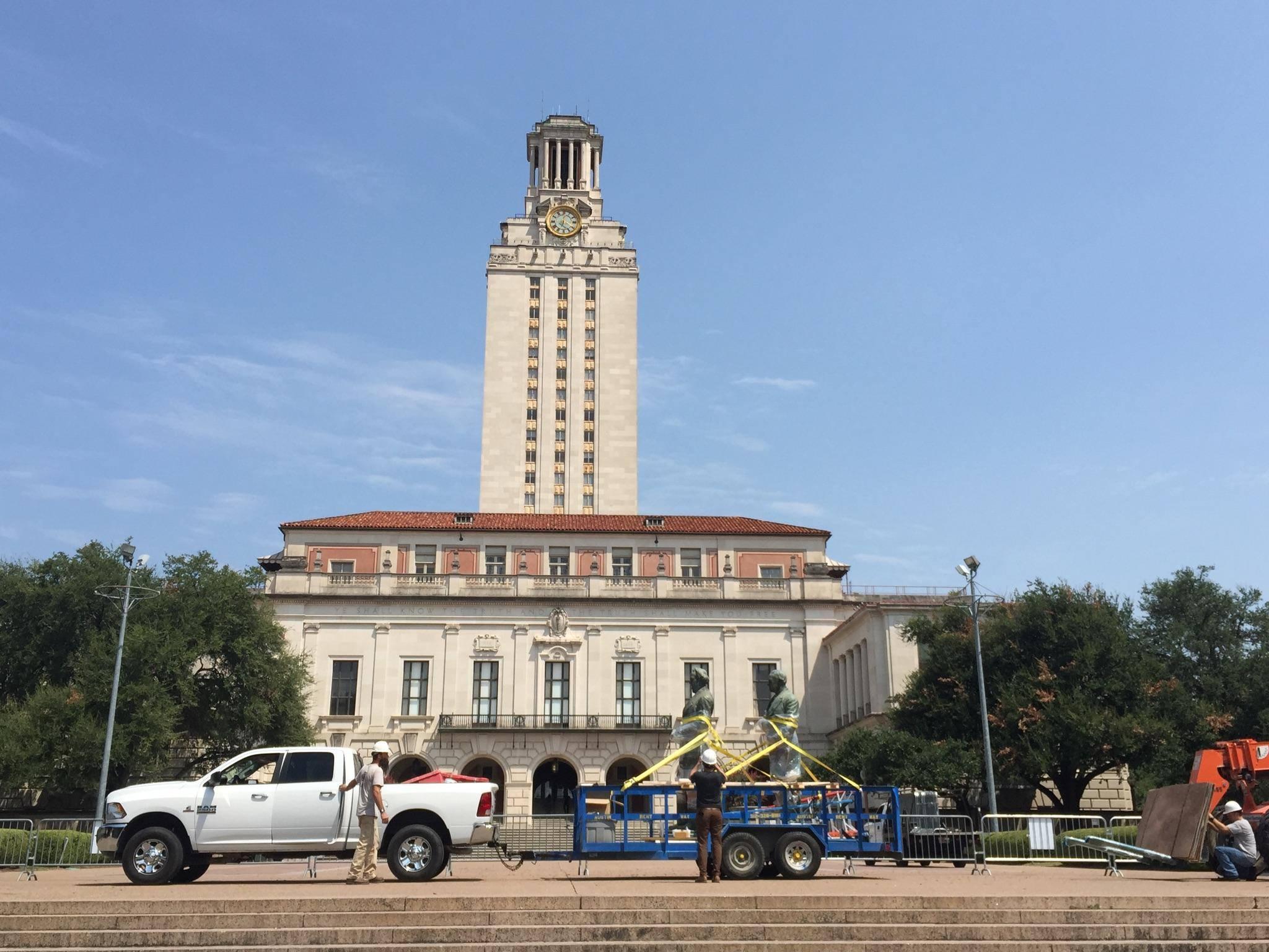 University of Texas Removes Jefferson Davis, Woodrow Wilson Statues