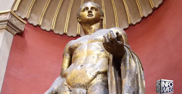 God's Providence Revealed in Hercules Statue