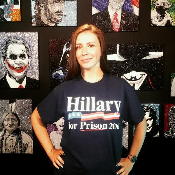 Infowars Endorses Hillary... for Prison 2016