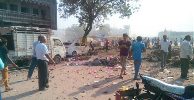 104 Killed in Jhabua, India, Explosion; 'people were thrown away like pebbles'