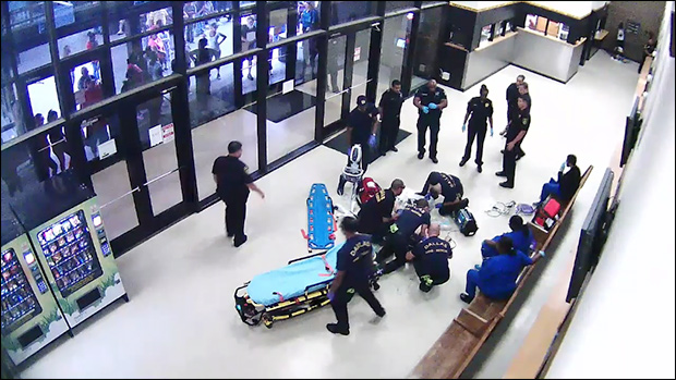 Shock Video: Man Dies in Jail Lobby After Encounter with Sheriff's Deputies