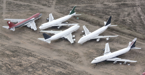 9/11: CIA Likely Built Remote-Controlled Commercial Jets in Aircraft Boneyard