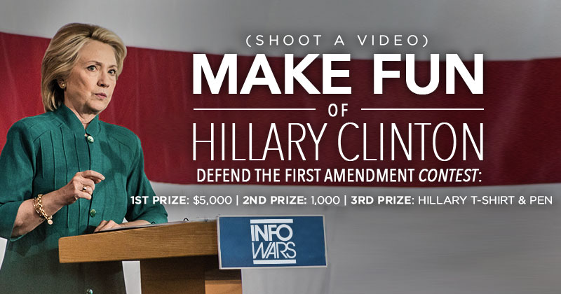 National Contest to Stop Hillary's Attack on Free Speech