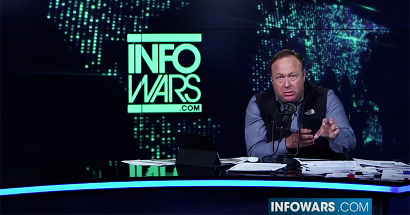 Alex Jones Talks About Mentally Ill Stalker Who Killed Police in Calif.