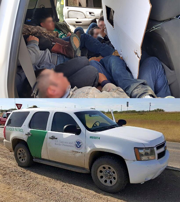 Agents Catch Smuggler Using Fake Border Patrol Vehicle