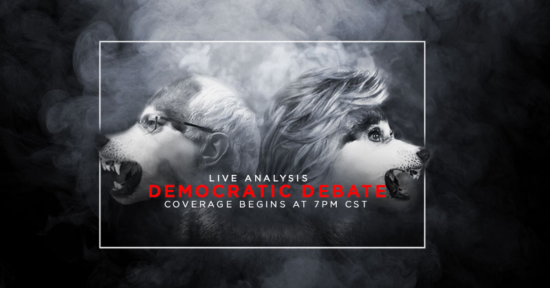 LIVE Democrat Debate Analysis: 7PM CST, COPY THIS LINK & SHARE IT: infowars.com/show