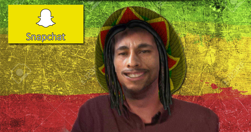 SJWs Accuse Snapchat of 'Racism' Over Bob Marley Weed Day Filter