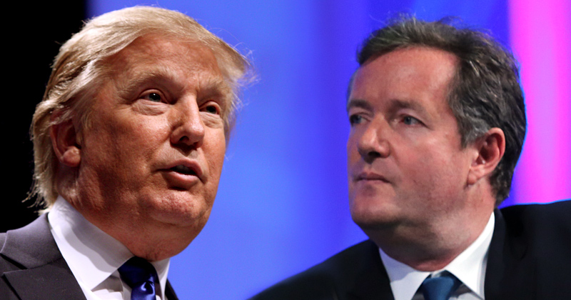 "Piers Morgan: Trump Slaying D.C. Elite, Hillary Shaking ""In Her Goldman Sachs-Financed Boots"""