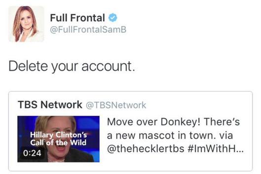 #ImWithHyena: TBS Deletes Hilarious Tweet Comparing Hillary to Laughing Hyenas