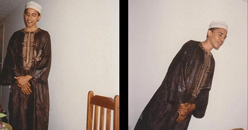 Photos: Obama Wears Traditional Muslim Dress