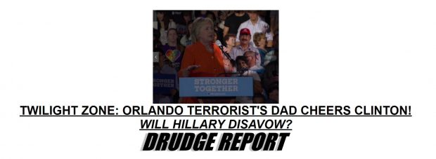 Infowars Forces Hillary to Disavow Orlando Shooter's Father