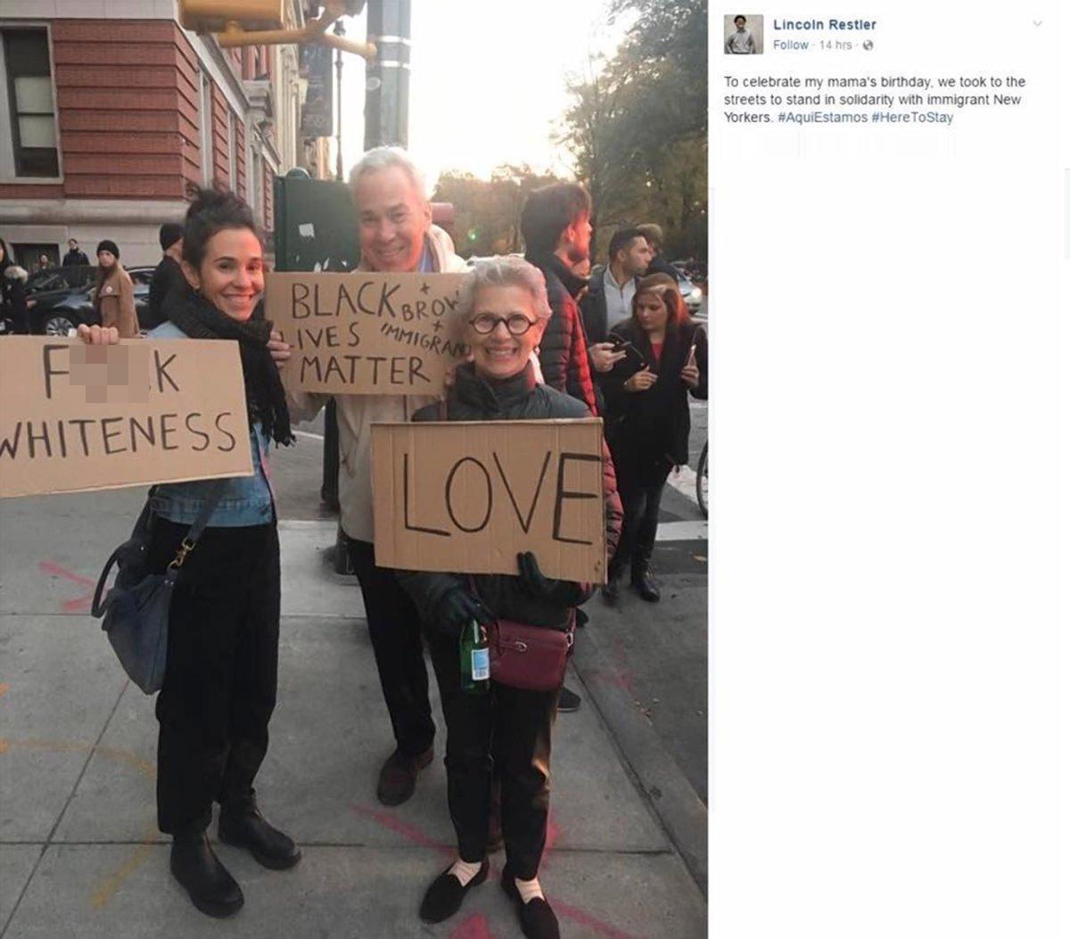 Backlash After De Blasio Staffer Posts 'F*** WHITENESS' Photo