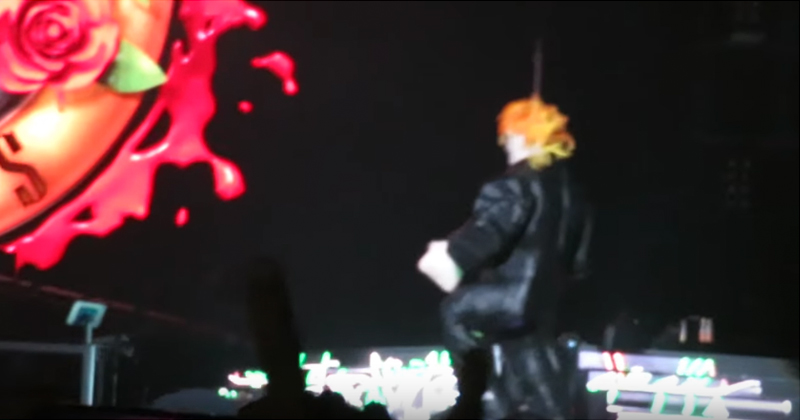 Guns N' Roses Invite Mexican Fans on Stage to Beat Trump Piñata