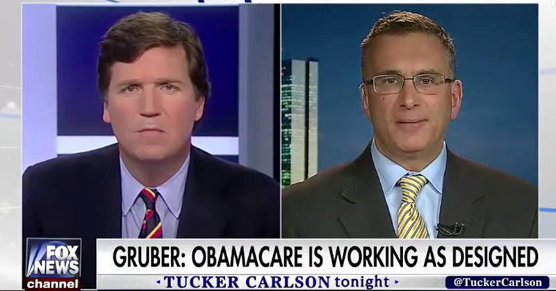 Obamacare Architect: 'This Was Never Supposed To Help Everybody'