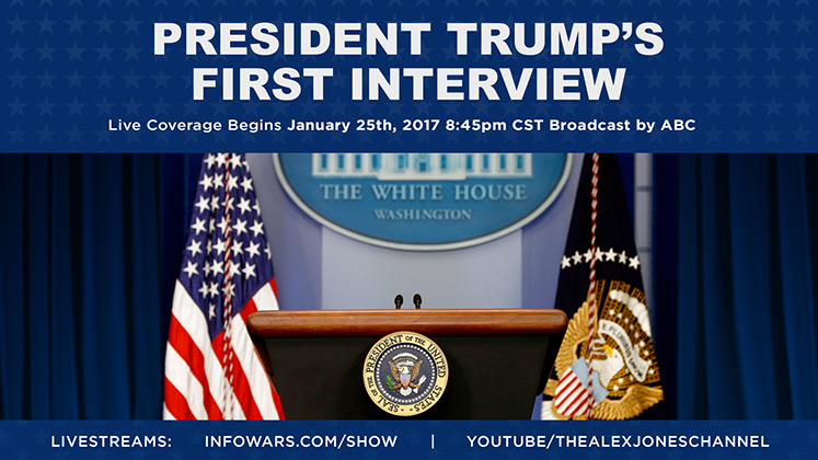 Live: Trump's First White House Interview / Analysis of ABC