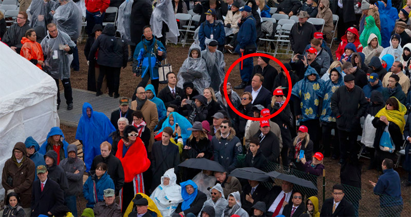 Where's Alex? See if You Can Spot Infowars Founder in Inauguration Photo