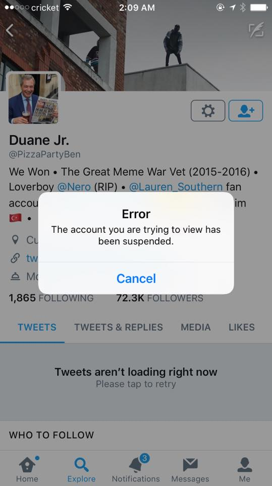Twitter Silences Another Prominent Trump Supporter As Censorship Escalates