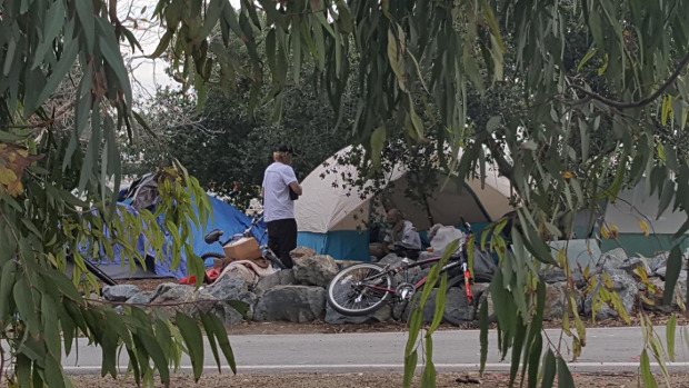 Shock Video Exposes Tent City Crisis In Failing California