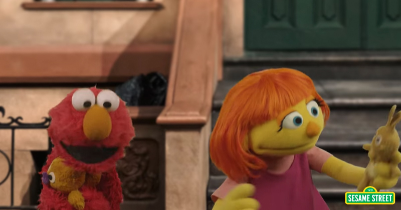 Sesame Street Introduces Autistic Muppet
