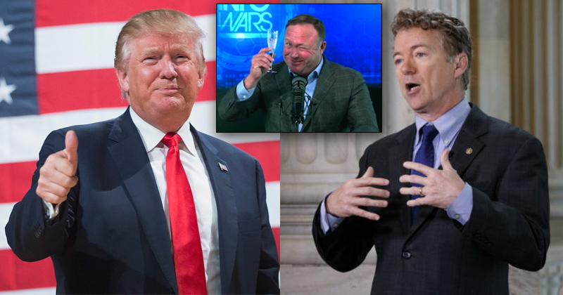 Trump Tweets Support for Rand Paul Healthcare Bill Following Infowars Appearance?