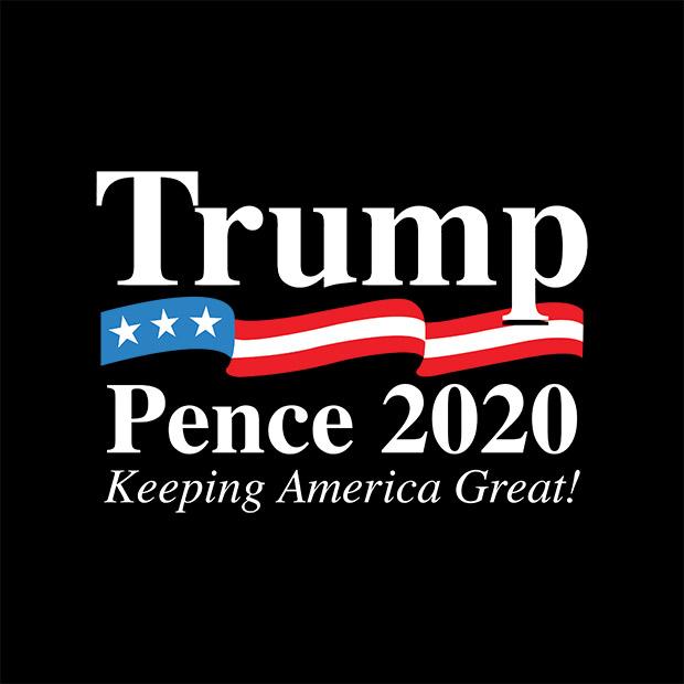 Infowars Announces Exclusive 'Trump-Pence 2020: Keeping America Great' Design