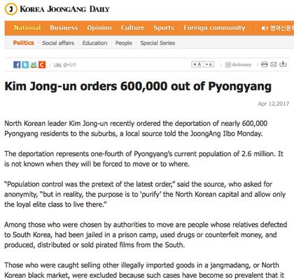 NKorea Evacuates 600,000 From Capital - Here's Why