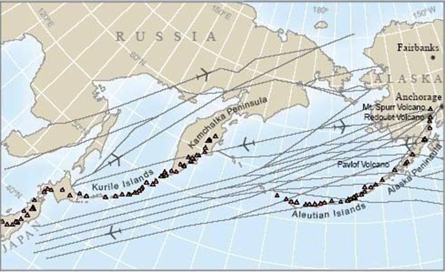 Highest Alert Level Issued after Alaskan Volcano Erupts