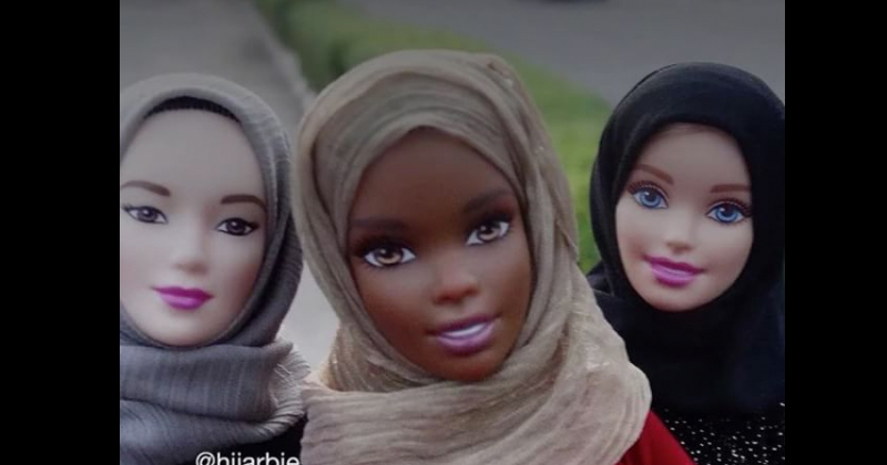 Hijab-wearing Barbie Dolls Go Viral