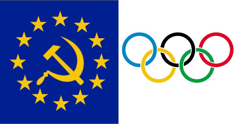 Globalists to Push EU Flags, EU Teams at 2024 Olympics