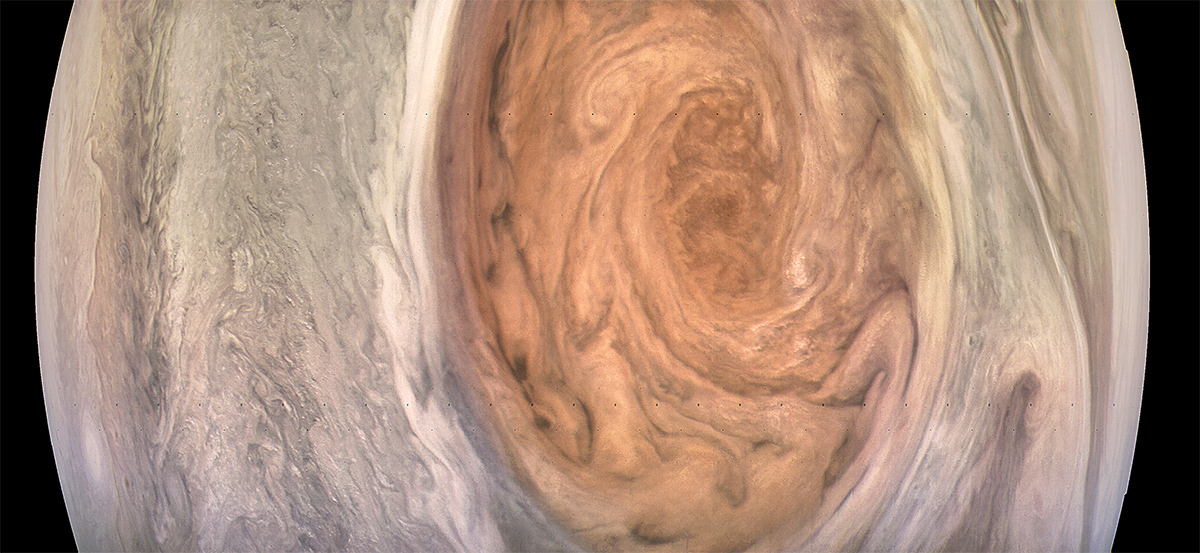Amazing Images: NASA's Juno Spacecraft Spots Jupiter's Great Red Spot