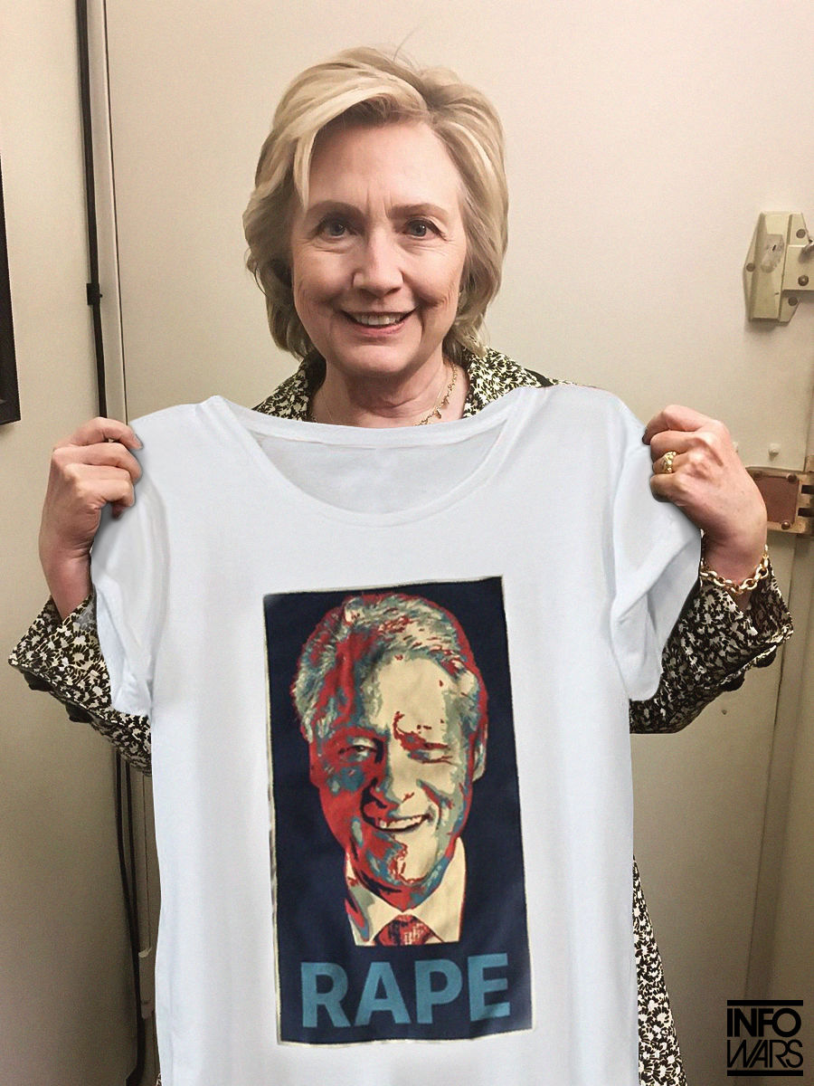 Hillary Clinton Plugs 'Nasty Woman' Shirt for Planned Parenthood
