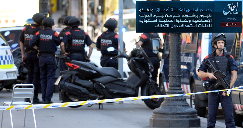 Islamic State Takes Credit for Barcelona Van Attack