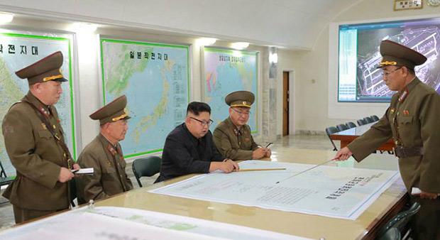 North Korea Backs Down from Guam Attack Plan