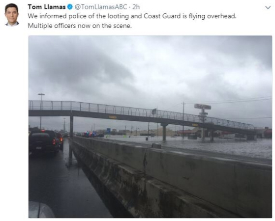 Leftists Outraged After Reporter Alerts Police to Houston Looters