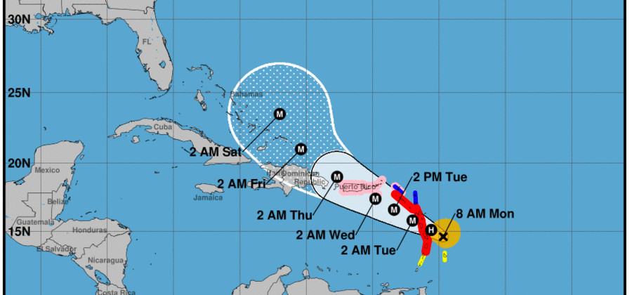 Hurricane Maria: Latest Update Indicates Possible Similar Path as Irma