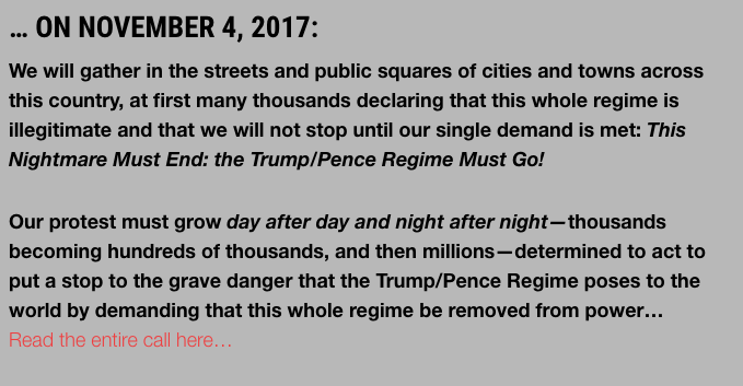 Video: 'Anti-Fascist' Protesters Block Freeway, Threaten 'Nov 4 It Begins'