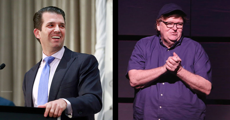 Donald Jr. Slams Michael Moore for Suggesting Flood-prone Mar-a-Lago be Used as Shelter