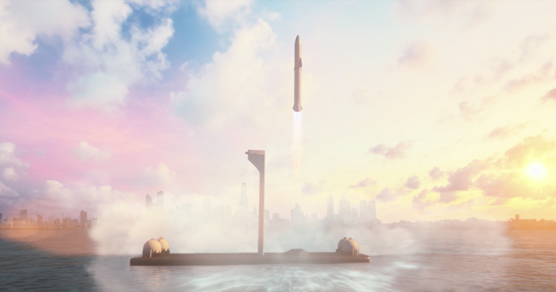 Elon Musk Proposes Rocket Travel to Cities Across the Globe