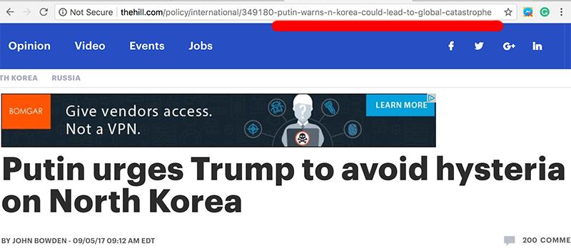 MSM Pushes Fake News NKorea Headline to Attack Trump