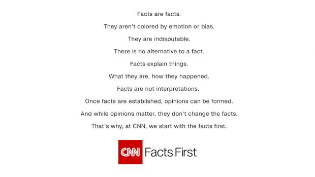 "CNN Launches ""Facts First"" Campaign While Burying Uranium One Scandal"